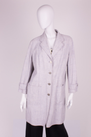 Chanel Trenchcoat - light gray/lilac