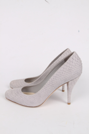 Christian Dior Miss Dior Snakeskin Pump - grey