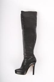 Jimmy Choo Overknee Platform Boots - black