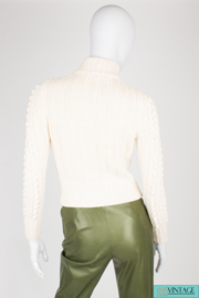 Celine Cashmere Cardigan - off-white