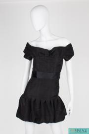 Chanel Silk Dress - black