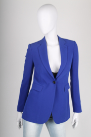 Joseph Crepe Jacket - blue