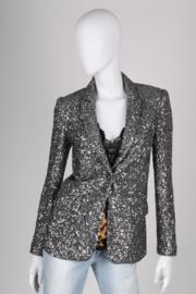 Paul & Joe Sequin Jacket - blackish silver