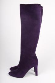 Ralph Lauren Diane Boots Suede - purple