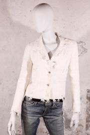 Chanel jasje - wit/off-white