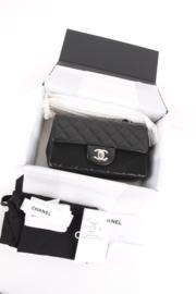 Chanel Mini Rectangular Lambskin Silver Hardware 2019