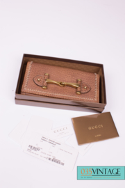 Gucci Horsebit Wallet Leather - brown