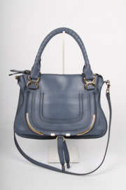 Chloe Marcie Bag - blue/gold