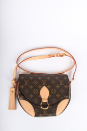 Louis Vuitton Monogram Canvas Saint Cloud Cross Over Bag - brown