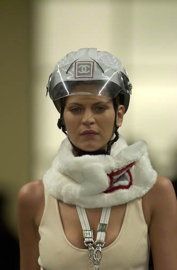 Chanel Fall/Winter 2001 (01A) Sports Ski Snow Line 'CC-Logo' Mountain Climbing Biker Helmet