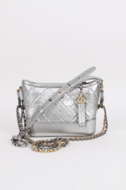 Chanel Small Gabrielle Bag - silver
