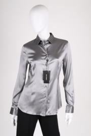 Dolce & Gabbana Silk Blouse - silver grey