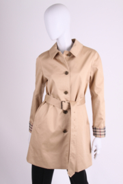Burberry Sarcliffe Trench Coat - beige
