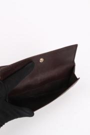Gucci Guccissima Wallet - dark brown