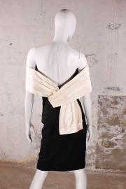 Vintage Dior dress - Avant Garde Tuxedo black & white