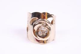 Salvatore Ferragamo Cuff Bracelet - gold