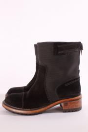 Chanel Biker Boots - black