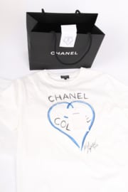 Chanel ♥ Colette T-shirt Limited Edition 2017 - white - collector's item!