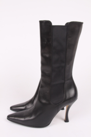 Walter Steiger Leather Boots - black