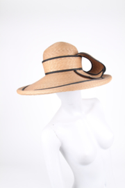 Jaeger London Straw Couture Derby Hat