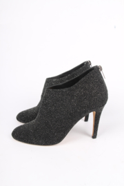 Jimmy Choo Glitter Ankle Boots - black
