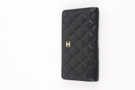 Chanel CC Wallet Caviar Leather - black