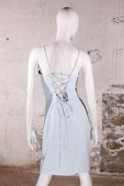 Vintage Mugler jurk - lichtblauw
