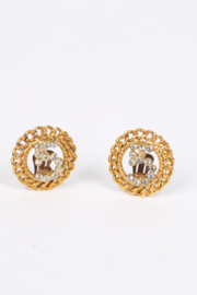 Chanel No. 5 Earrings - gold