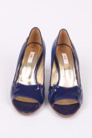 Versace Jeans Couture Peep-toe Shoes - blue
