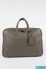 Hermès Victoria II Travel Bag 50 Clemence - taupe