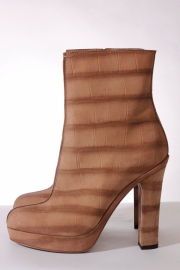 Yves Saint Laurent Ankle Boots - taupe/nude nubuck