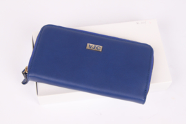 Versace Jeans Couture Zip Around Wallet - blue