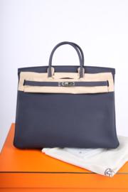 Hermès Birkin Bag 40 - Bleu Nuit