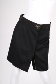 Gucci Camel Wool Skirt - black