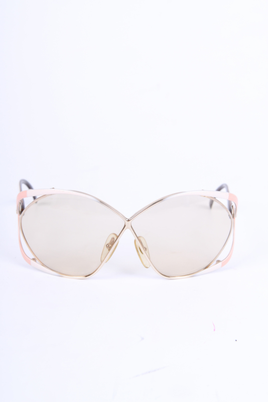 Christian Dior Vintage Sunglasses 2056 - gold/pink/white