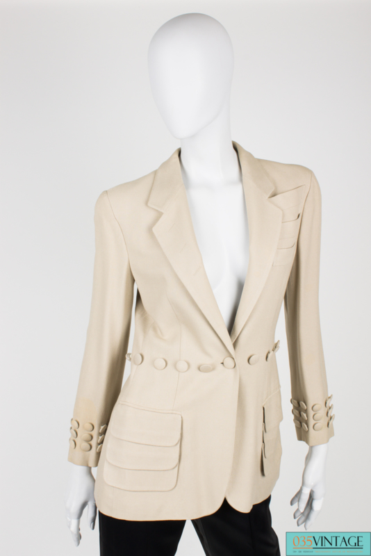 Moschino Couture Jacket - beige