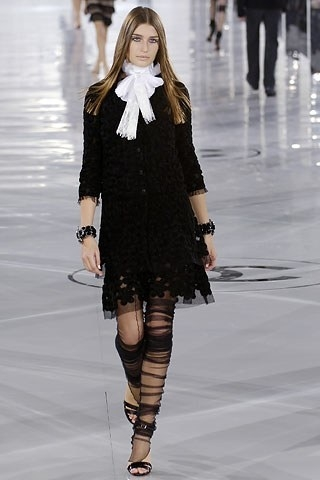 Chanel Dress - black lace