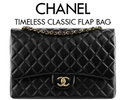 Chanel timeless classic flap