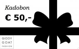 Kadobon € 50,-