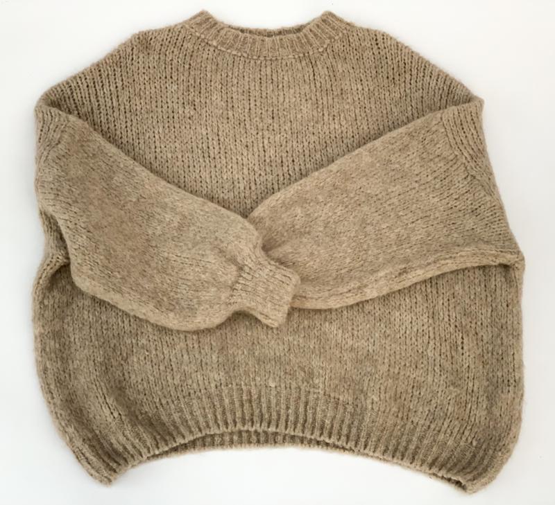 Twee knits ronde hals