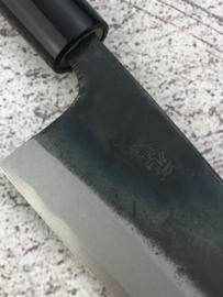 Tosa Motokane Aogami #1 Wa-Deba kuroishi (kliefmes), 150 mm -dubbelzijdig-