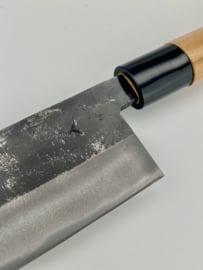Tosa Arai Yami 闇 Aogami #2 Gyuto kuroishi (chef's knife), 210 mm