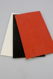 Spacer material, vulcanized cardboard