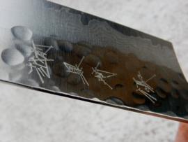 Kurosaki Megumi VG10 Santoku (universeel mes), 170 mm