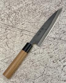 Muneishi Aogami SS clad petty (office knife), 120 mm -Kuroichi-