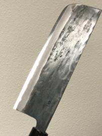 Tosa Motokane Aogami #1 Nakiri kuroishi (groentemes), 165 mm