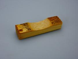 Goma steuntje voor eetstokjes, Chopstickhouder, bamboe -set van 5-