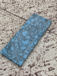 Recon stone (reconsituted stone), spacer, blauw