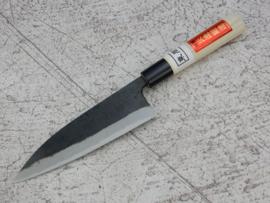 Tosa Azuma Syusaku Shirogami #2 Funayuki kuroishi (fish knife), 165 mm -Light -