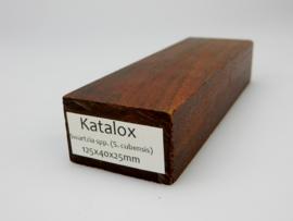 Katalox, donkerbruin,  -homogeen-